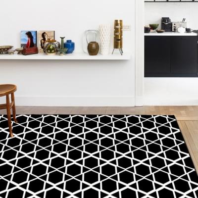 范登伯格 - 輪舞曲 進口地毯 - 黑菱 (中款 - 140 x 190cm)