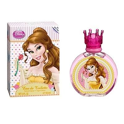 (即期品)Disney Princess童話美女與野獸貝拉公主女性淡香水100ml