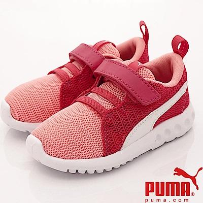 PUMA童鞋 輕量針織潮流款 90074-08 桃粉 (小童段)