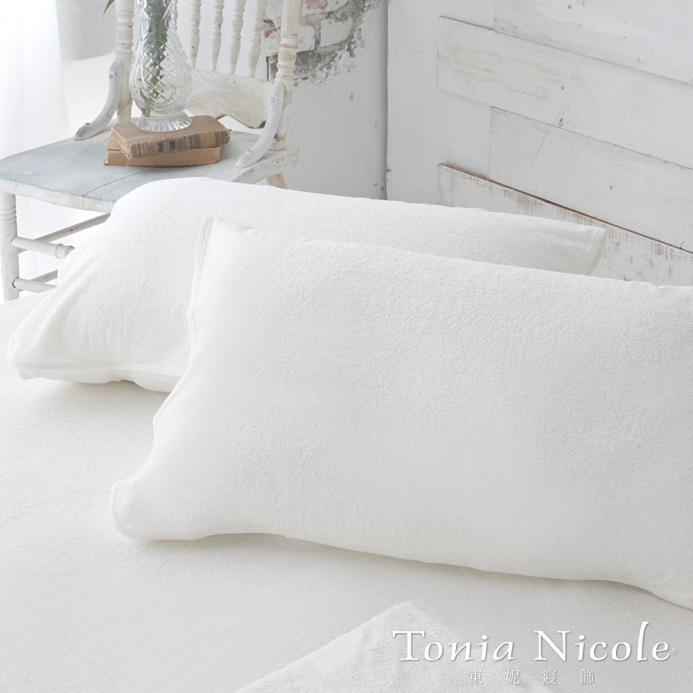 Tonia Nicole 東妮寢飾防水透氣枕頭平面保潔墊-2入