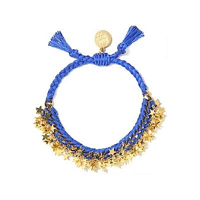 Venessa Arizaga Starlight 金色星星手鍊 藍色沙灘手鍊