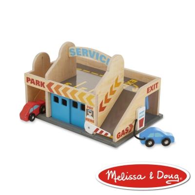 美國瑪莉莎 Melissa & Doug 交通工具 - 汽車休息站