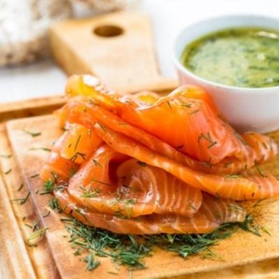 極鮮配 北歐煙燻鮭魚(200g ±10%/包)-4包入 回味無窮 鮮美爽口