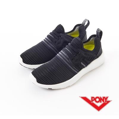 【PONY】SPLASH-X-系列-休閒鞋-黑-男性