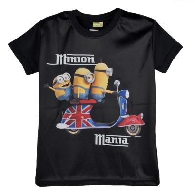 【小小兵】Minions 英倫風T_shirt黑