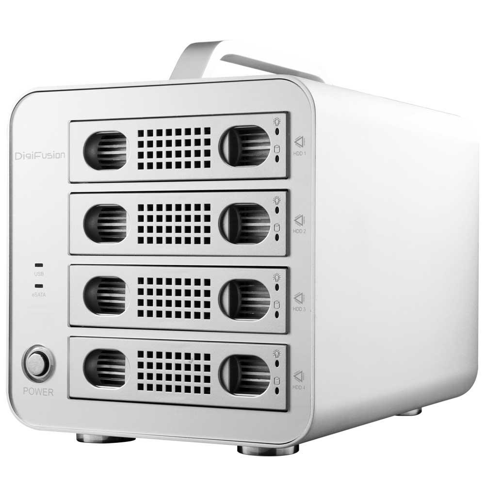 伽利略 USB3.0 + eSATA 1至4層抽取式 鋁合金 硬碟外接盒