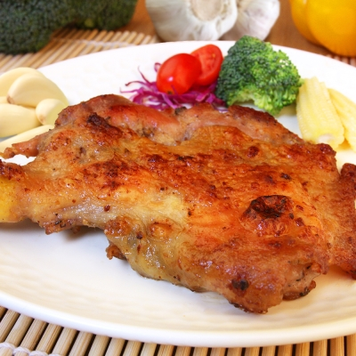 海鮮王 香蒜無骨嫩雞腿排 *1片組 (230g±10%片) (任選)