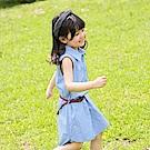 親子款~滿版愛心襯衫領洋裝-OB大尺碼