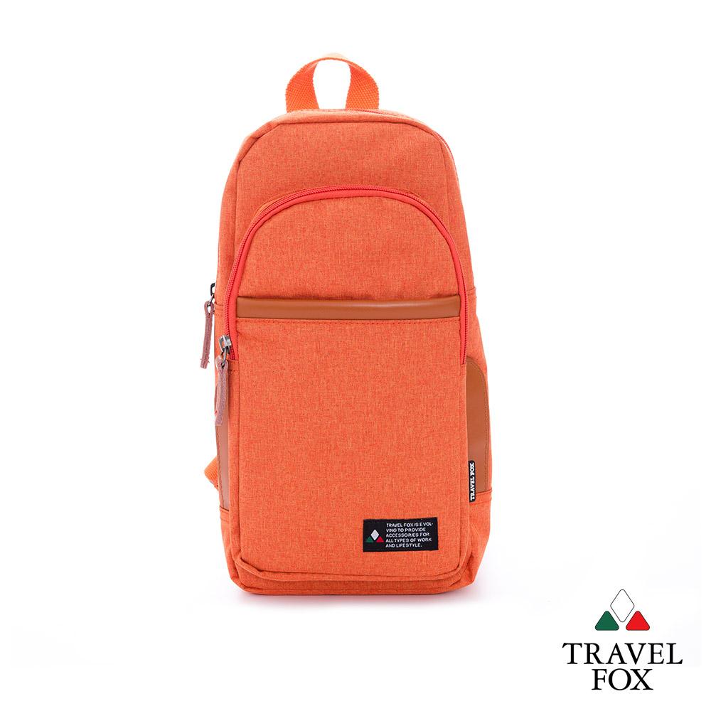 TRAVEL FOX 旅狐包-  隨性本色 單肩雙肩二用輕巧後背包- 亮點桔