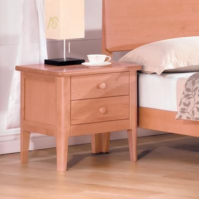 AS 肯尼思舉木床頭櫃 45x52x55cm