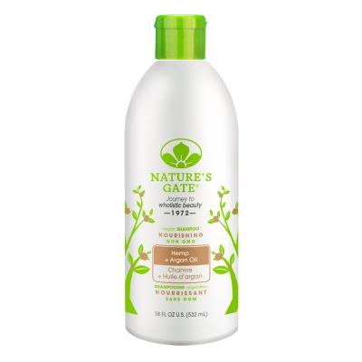 (即期品)Nature s Gate摩洛哥優油大麻籽滋養洗髮精532mL(2020.01.31)