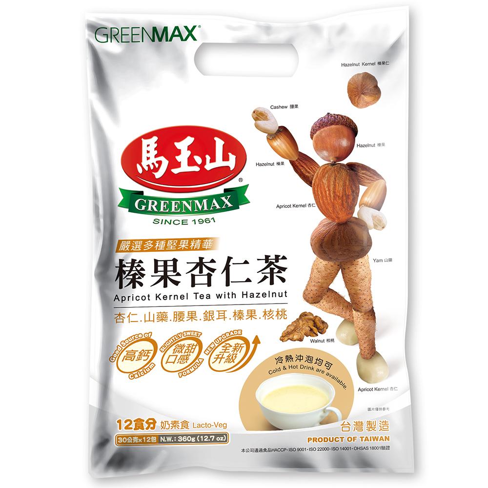 馬玉山 榛果杏仁茶(30gx12入)