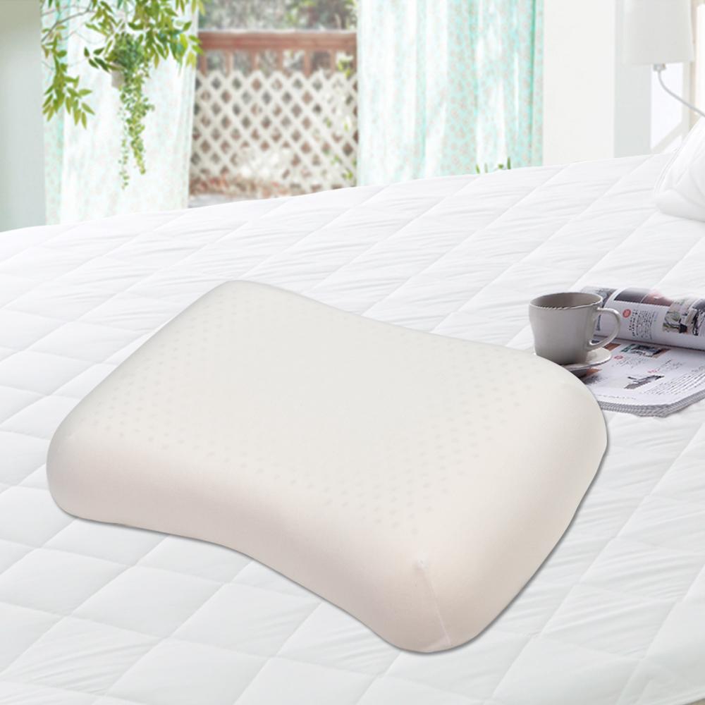 亞曼達Amanda 蜂巢氣孔100%天然乳膠枕(兩側托肩 / 仕女枕) -2入(快速到貨)