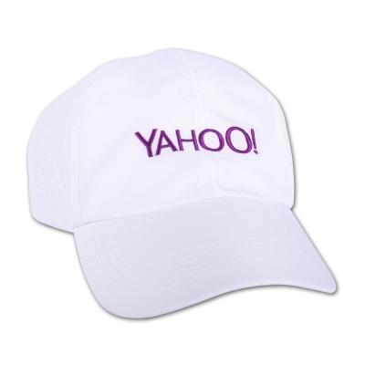 Yahoo!- 高爾夫休閒帽-白