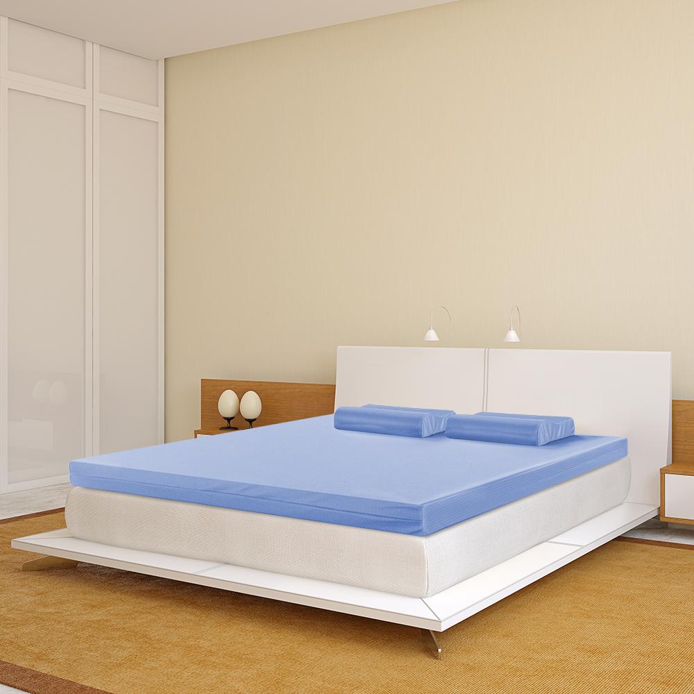 幸福角落 防蹣抗菌布套12cm波浪竹炭釋壓記憶床墊-單人加大3.5尺