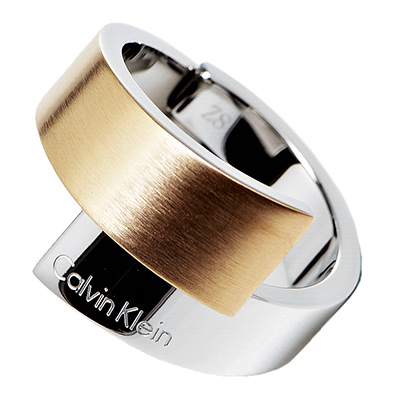 CK Calvin Klein Intense 愛戀雙色戒指