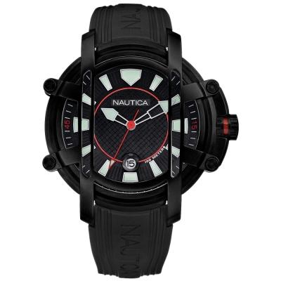 【NAUTICA】暗黑騎士鈦金屬腕錶