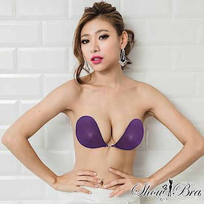Show Bra 隱形內衣完美包覆款珠光紫