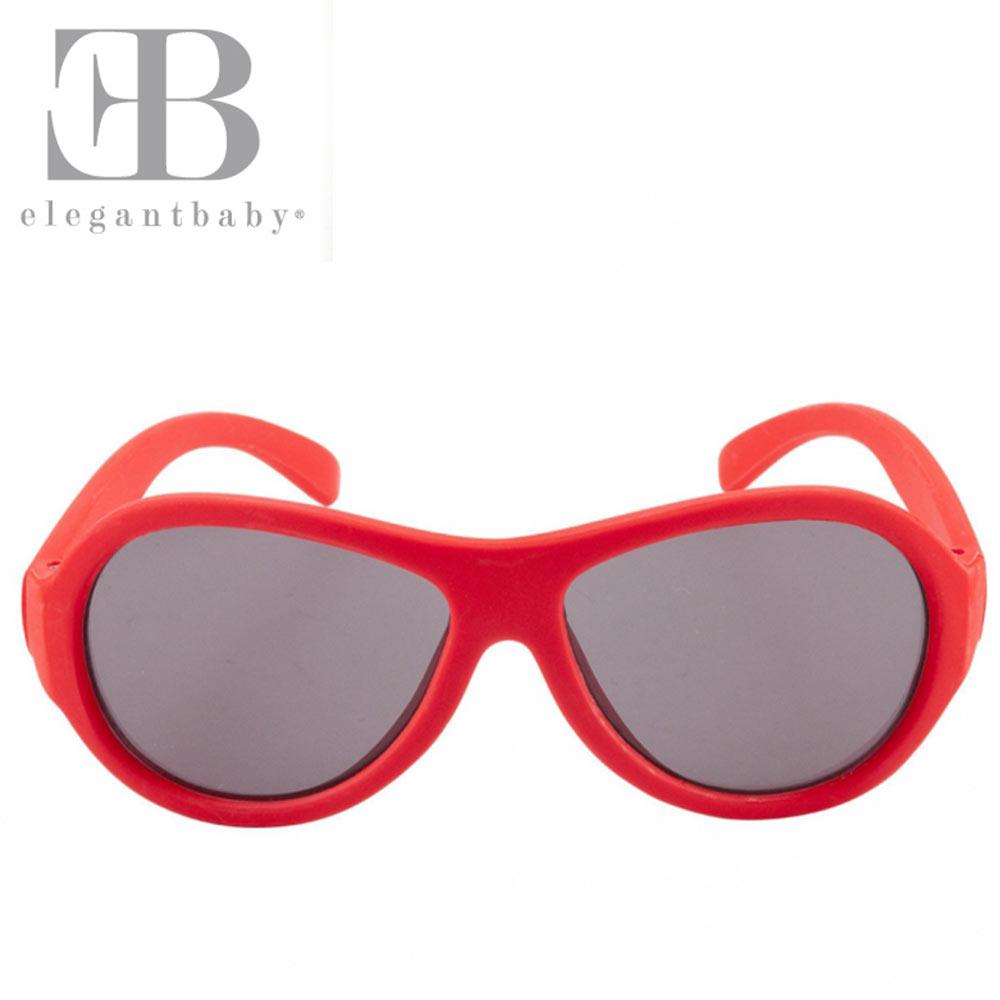 Elegant Baby 紅色款抗UV太陽眼鏡