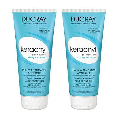 DUCRAY護蕾 淨化毛孔潔膚凝膠200ml(二入組)