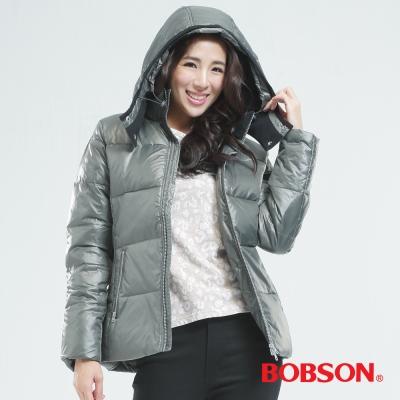 BOBSON 女款基本型羽毛外套