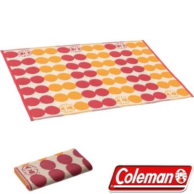Coleman CM-26876_點點紅露營野餐戶外地毯/130