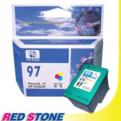 RED STONE for HP C9363WA[高容量]環保墨水匣(彩色)NO.97