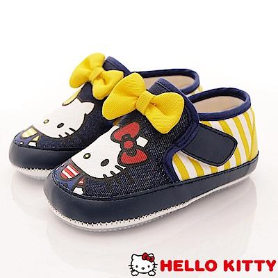 HelloKitty童鞋 軟軟學步款 18602藍黃 (寶寶段)