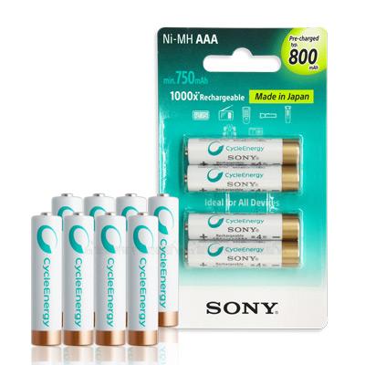 SONY-CycleEnergy-新型-800mA