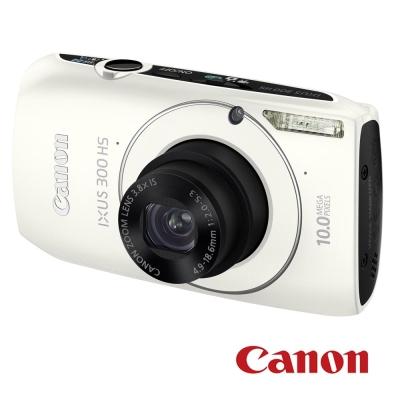 Canon Digital IXUS 300 HS 白色 福利品