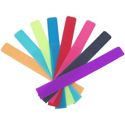 色彩繽紛萬能束線魔術理線帶超值50入(顏色隨機出貨)