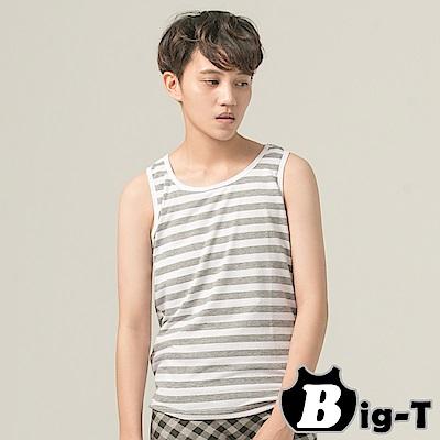 束胸 一件式全身排扣外穿條紋束胸(M-2XL) BIG-T