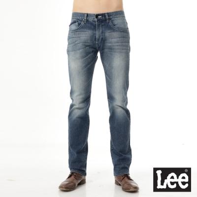 Lee 牛仔褲 724 中腰標準直筒-男款(中漂藍)