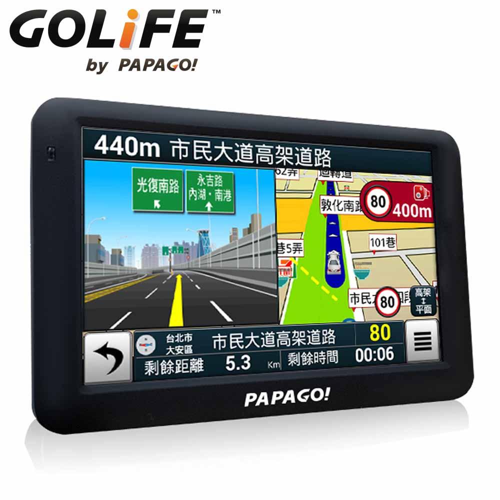 PAPAGO! GoPad 5 超清晰 Wi-Fi 5吋聲控導航平板機