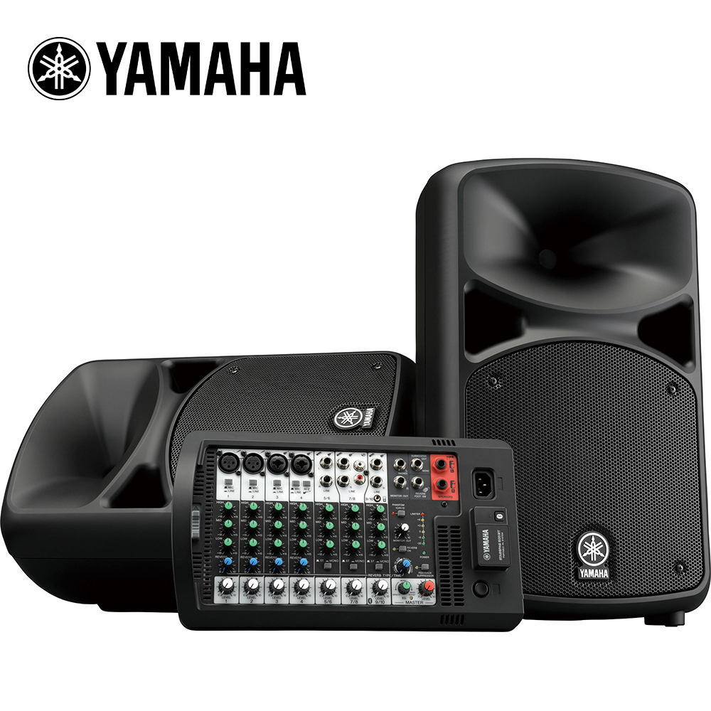 YAMAHA Stagepas 600BT 可攜式 PA 音響系統 @ Y!購物