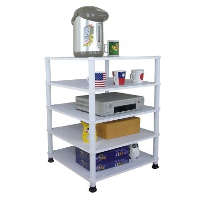Dr. DIY 60x60公分-五層置物架/電器架(三色可選)