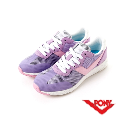 【PONY】SOHO+系列-輕甜休閒鞋-女性-淺紫