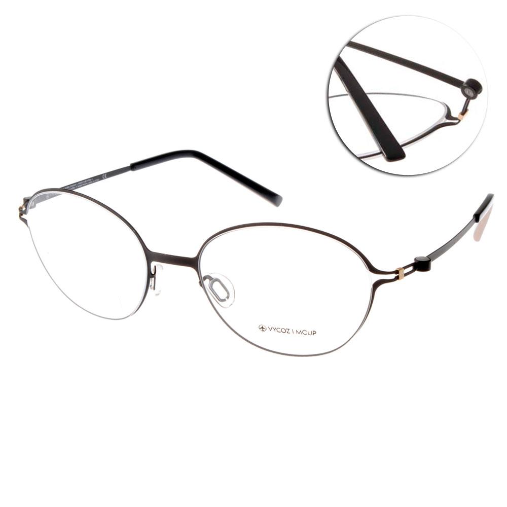 VYCOZ眼鏡 復古圓框/質感黑#VENUS BLKBK