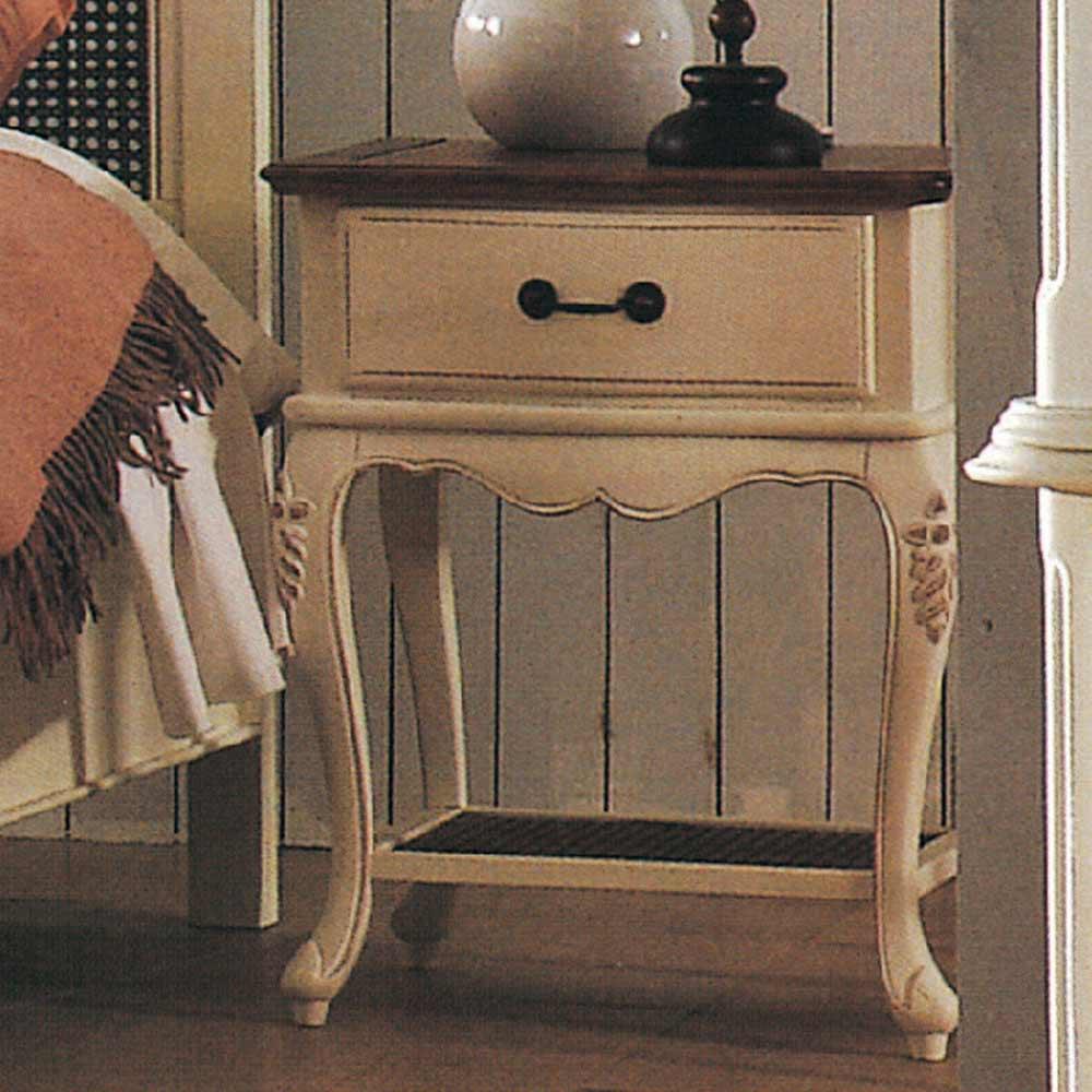 AT HOME - 黛安娜雙色床頭櫃 51x42x64cm