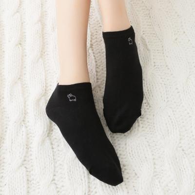 蒂巴蕾 少女船襪-小綿羊