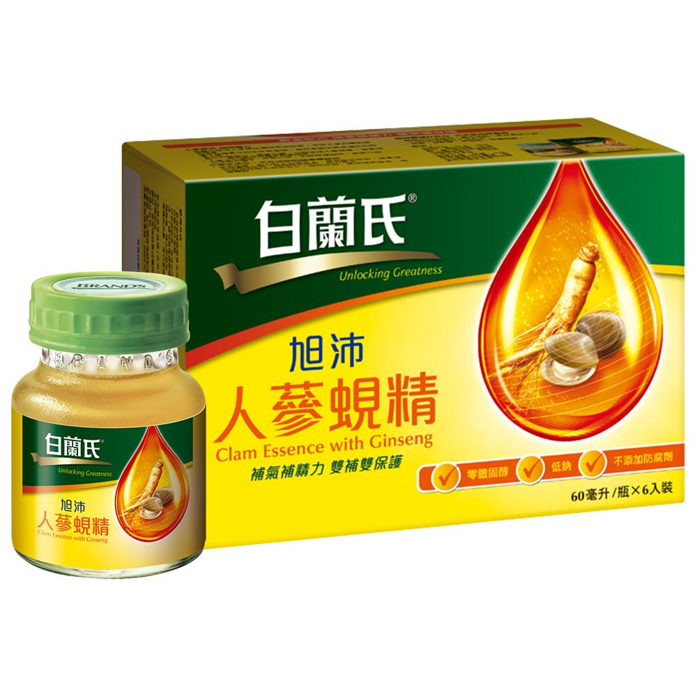 白蘭氏 旭沛人蔘蜆精(60ml/瓶 x 6瓶)