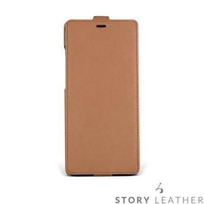 STORYLEATHER Note 8 Style-N82 硬殼式下蓋 客製化皮...