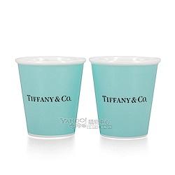 Tiffany&Co. Tiffany Blue 紙杯造型骨瓷杯 (1組2入)