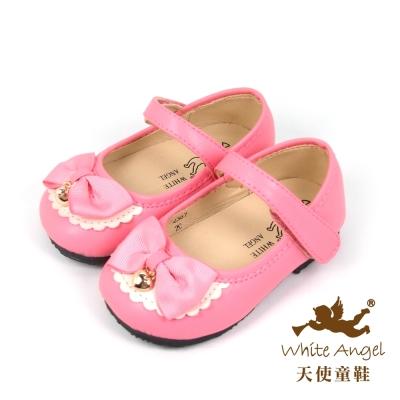 天使童鞋-C2387 甜心愛麗絲娃娃鞋-俏麗粉