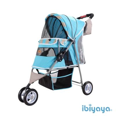 IBIYAYA依比呀呀-繽紛午茶寵物三輪車-慕斯藍(FS1101S)