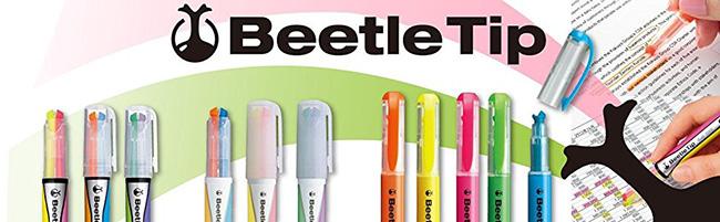 KOKUYO Beetle Tip獨角仙螢光筆(五色組)