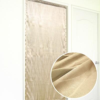 布安於室-曲線壓紋3明治遮光布風水簾-7色款