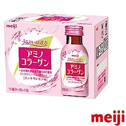 明治 膠原蛋白飲-檸檬口味6入(75ml*6入)