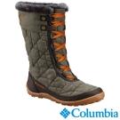 Columbia哥倫比亞 女款-防水保暖雪鞋-軍綠色 UBL27570AG