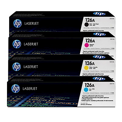 HP CE310A~CE313A四色碳粉1套-超值組合包